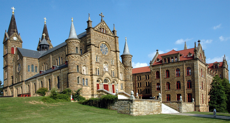 Saint Meinrad Archabbey in Indiana - Spiritual Travels
