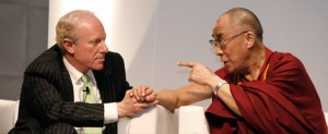 Bobby Sager and the Dalai Lama (photo from Beyond the Robe)