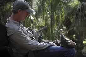 "Joe Hutto's documentary ""My Life As A Turkey"" describes his two years living among wild turkeys."