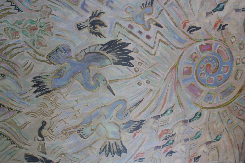 Mural by Walter Anderson of Ocean Springs, Mississippi (image courtesy of Walter Anderson Museum of Art)