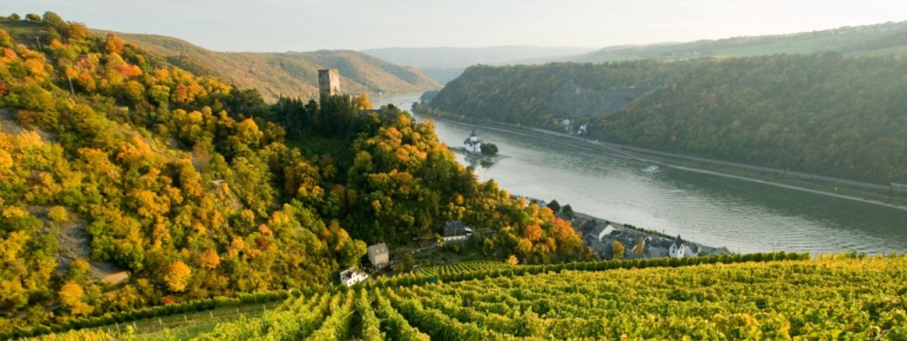 The Rhine River between Bingen and Koblenz is one of the most beautiful parts of Germany (photo by Romantic Rhine Tourism)