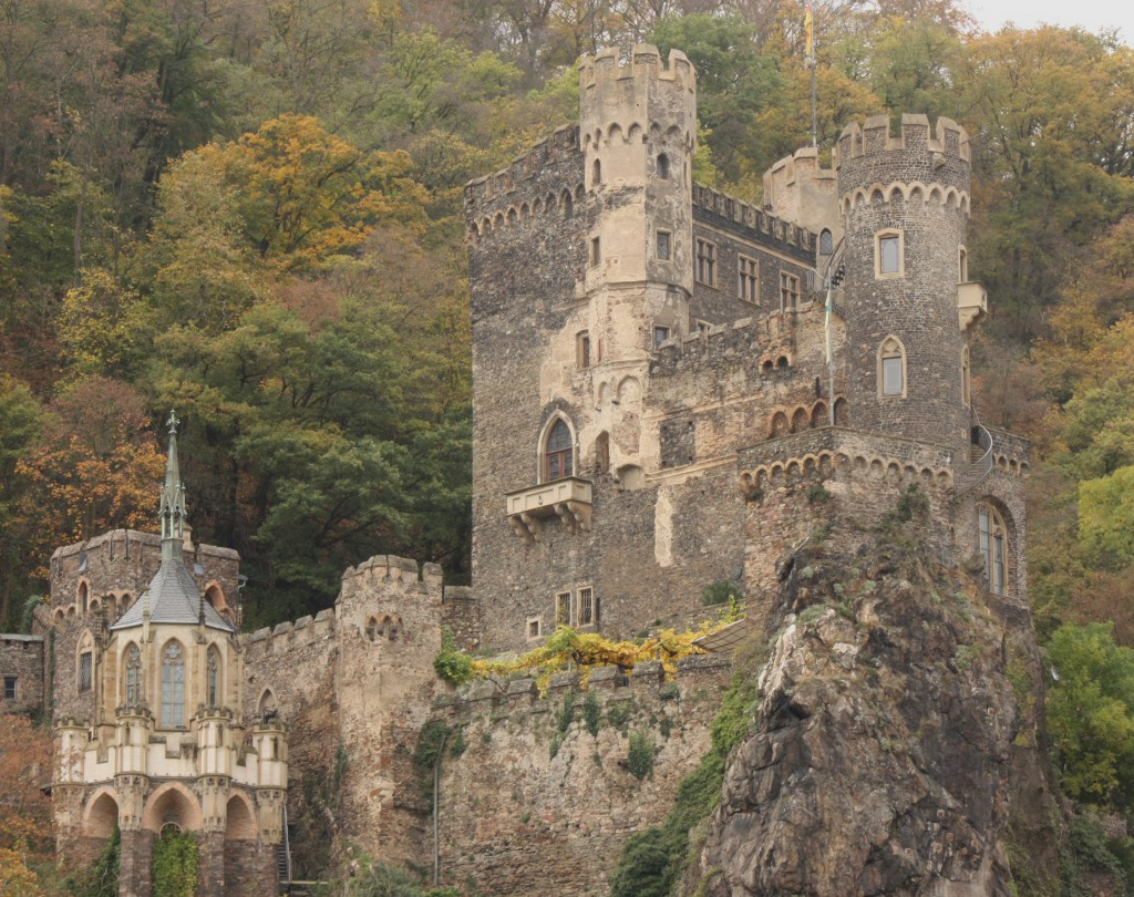 There are nearly 40 castles overlooking the Rhine River in this region. (Bob Sessions photo)