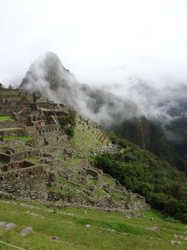 Machu Picchu is known as the City in the Clouds for good reason. (Lori Erickson photo)