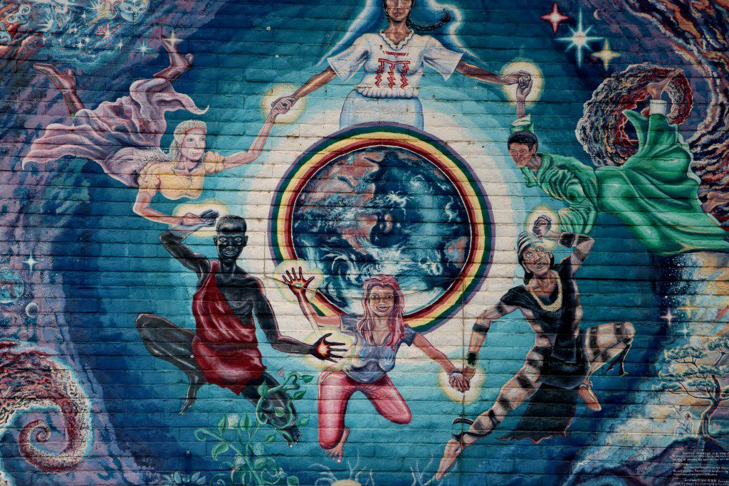 I loved this mural on the exterior of the Center for the New Age in Sedona. (Bob Sessions photo)